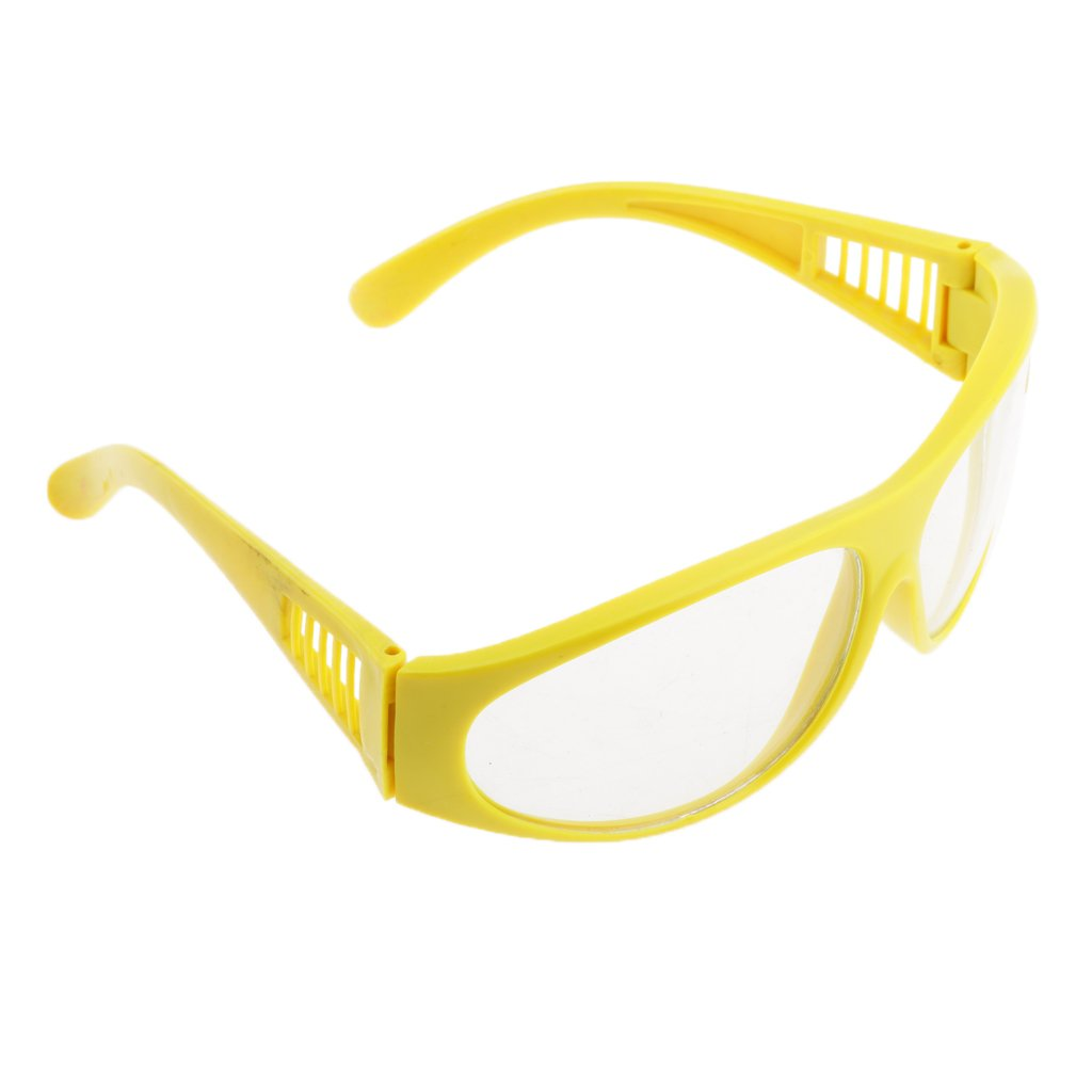 MonkeyJack Welding & Cutting Safety Spectacles Glasses With Clear Lens Eye Protection