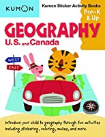 Geography: U.S. and Canada Sticker Activity Book (Kumon Sticker Activity Books, Pre-K & Up)