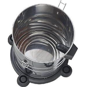Edelstahlbehälter des Syntrox VC-2000W-30L PR