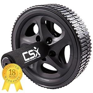 CSX Bauchroller, Rad mit extra dicker Knieauflagematte und...