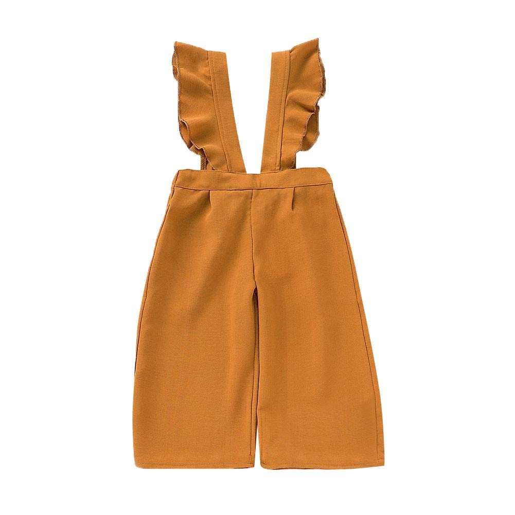 Valcatch Baby Girl Romper Beautiful Toddler Fashionable Cute Broad-Legged Pants