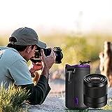 Camera Lens Case, Venoro Medium 5mm Thick Protective Neoprene Pouch Bag for DSLR Camera Lens (Canon, Nikon, Pentax, Sony, Olympus, Panasonic, etc) (Medium)
