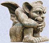 Gothic Medieval Sculpture European sentinel Gargoyle Gift New