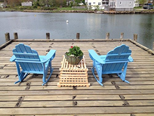 Maine Cocktail Table (Maine Wooden Lobster Trap)