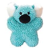 Zanies Cuddly Berber Baby Koala Dog Toys, Blue