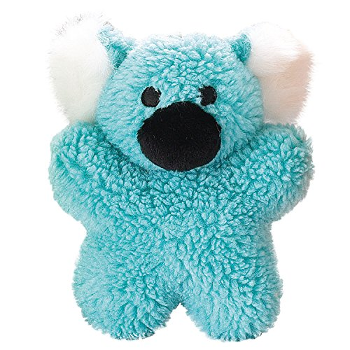 Blue Dog Soft Toy (Zanies Cuddly Berber Baby Koala Dog Toys, Blue)