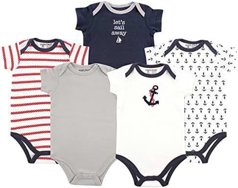 Luvable Friends Neutral 5 Pack Bodysuits
