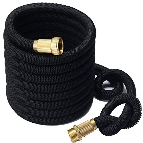 Pro-Nu Expanding Water Hose Heavy Duty (25FT, 50FT, 75FT 100FT) Expandable Garden Hose Trible Latex Core Fabric Hose - Pro Hose