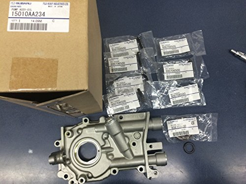 Genuine OEM Subaru Oil Pump w/ Seal & O-Ring & BOLTS Impreza Forester Legacy - Oil Turbo Seal Pump