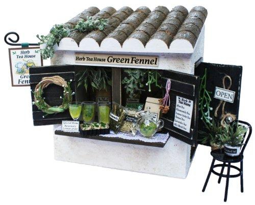 Billy handmade dollhouse kit cottage kit herbal tea shop 8723 (japan import) by Billy 55