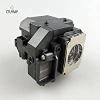 Epson Replacement Projector Lamp for ELPLP58, V13H010L58, with Housing