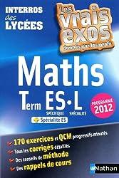 Interros des Lycées Maths Terminale ES.L