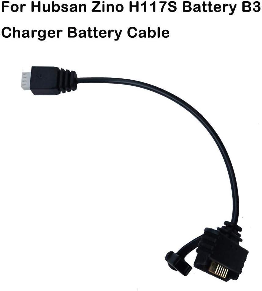 Barlingrock Bater/ía Cable Conectado para Hubsan Zino H117S RC Drone Quadcopter Repuestos Cable Conectado a la bater/ía Cable