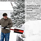 auto snow remover multifunctional retractable shovel wiper for truck cleaning and deicing extendable brush 3 in1 ice scraper tool car windshield winter multi functional scraping the snowboard handle t