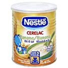 Nestle Cerelac, Banana & Wheat With Milk, 400 g (14.11 oz.) Can (Pack of 4)