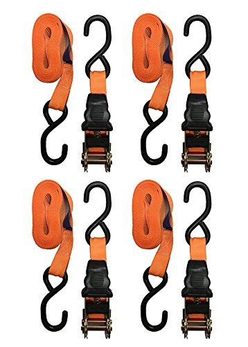 Erickson 05714 Digital Camo Ratcheting Tie Down Strap 2 Pack 1.25 x 8 Long, 2400lb Load Capacity 1.25 x 8/' Long 2 Pack
