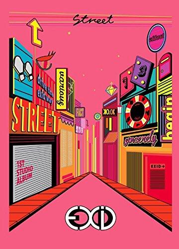 EXID Vol. 1 - Street [+EXID poster][+EXID polaroid photocard(with signature)][+EXID autograph event photo][+EXID postcard][+EXID ()