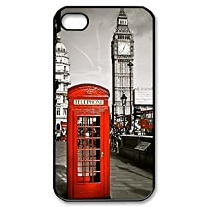 THYde Run horse store - Just for You, Classic British London Red Telephone Box And Big Ben picture for black plastic iphone 6 4.7 case ending