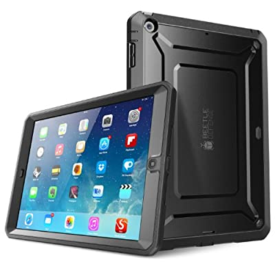 iPad Air Case, SUPCASE Heavy Duty Beetle Defense Series Full-body Rugged Hybrid Protective Case Cover with Built-in Screen Protector for Apple iPad Air from Supcase