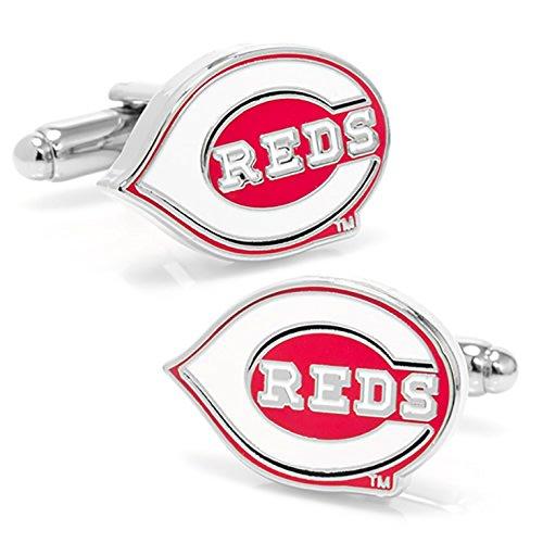 ScotchBlue Cincinnati Reds MLB Major League Cufflinks by ScotchBlue (Image #1)