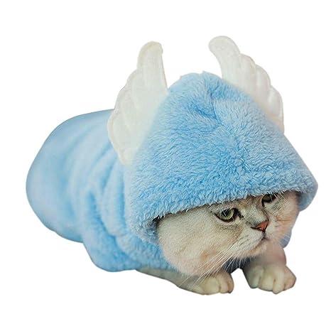 LiféUP Ropa de Gatito Otoño e Invierno Ropa Divertida para Gatos Mascotas Lindas Confort Transformar Vestido