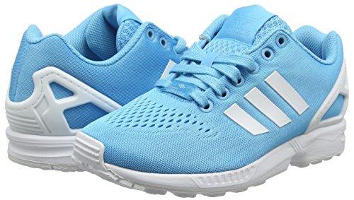 Cyan ftwr bright Flux Running bright Em Bleu Zx Adulte Adidas Cyan Mixte White Chaussures De PvxOpwq