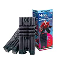 Mylec Street Hockey Goalie Pads - Small - Black by Mylec