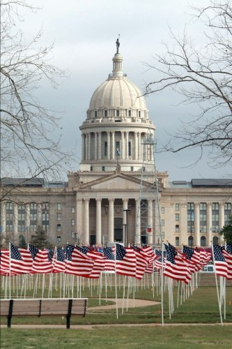- Oklahoma State Capitol Building in Oklahoma City Journal: 150 page lined notebook/diary