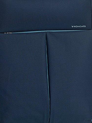 Mediano verticales 4 ruedas – poliéster Roncato crucero con TSA – 3,5 kg – Color Azul