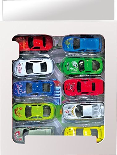 Toy Car Playmat and Storage Bag–Great Play, Storage, Travel Solution For Matchbox & Hotwheels Size Cars—WITH 10 TOY CARS