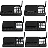 Intercoms Wireless for Home - GLCON 6 Pack Long