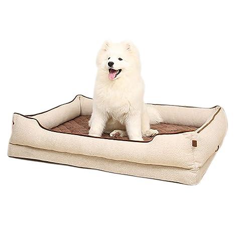 Cama perro Sofá para Perros Grandes con Funda extraíble Gatos para Mascotas de Interior Camas para