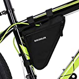 docooler Large Bicycle bag Bike Front Triangle Frame Bag Cycling Pipe Pouch Bike Tool Bag