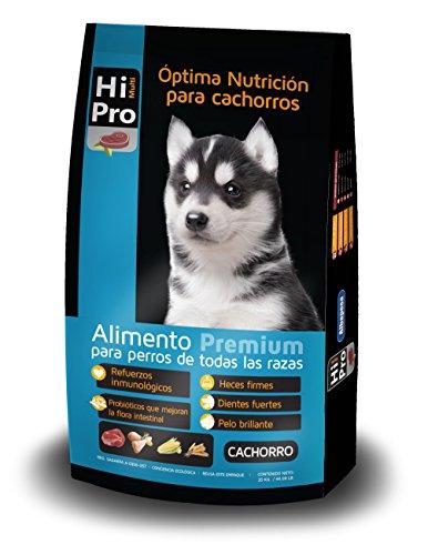 Hi Multipro Alimento Premium Cachorro 20 Kilos, 100% Balance Nutricional. con probióticos, Calcio y Proteínas de Alto Valor...