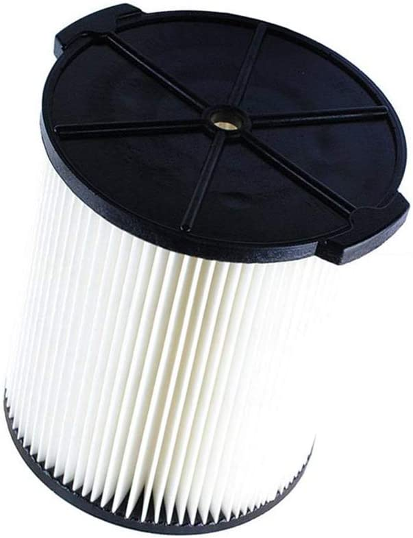 VF4000 Replacement Filter for Ridgid 72947 Wet Dry Vac 5 To 20-Gallon 6-9 Gal Husky Craftsman 17816 Vacuum Compatible WD5500 WD0671 WD1270 RV2400A RV2600B Washable Reusable Standard Wet/dry Vac Filt