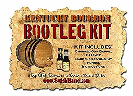 Bootleg Kit/™ Barrel Aged Kentucky Bourbon Making Kit 2 Liter