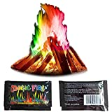 Magical Flames 20-Pack,Christmas Fire,Twice The Color, Half The Price!Enduring Pulsating Flame Creates Vibrant, Rainbow Colored Flames 25g*20-Pick