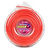 Cyclone CY155D1-12 0.155-Inch by 105-Feet Commercial Trimmer Line, Red