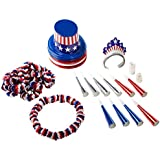 Spirit Of America Clear-View Asst for 10 Party Accessory (1 count)