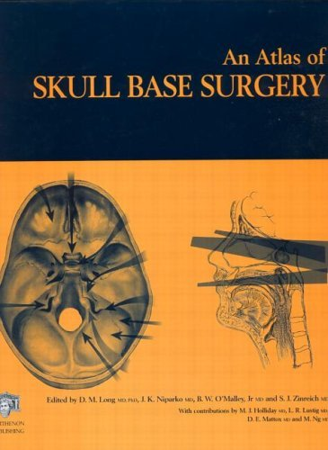 Download Atlas of Skull Base Surgery (The Encyclopedia of Visual Medicine Series) Pdf