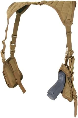 Condor Tactical Vertical Shoulder Holster - Brown
