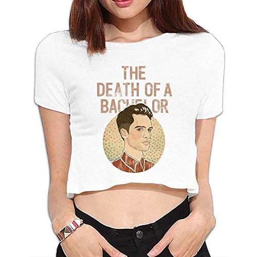 LEE75S Panic! At The Disco Girls Comfortable Crop Top