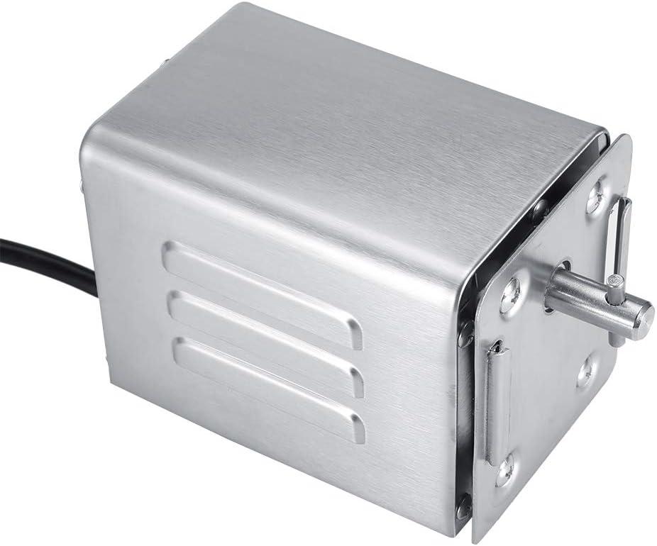 Acouto Rôtissoire de Barbecue d'acier Inoxydable, Moteur électrique de Barbecue de rôtisseur de Moteur de 50-70KGF, pour des dîners de Famille, des barbecues extérieurs, des Cuisines d'hôtel(UE) UE