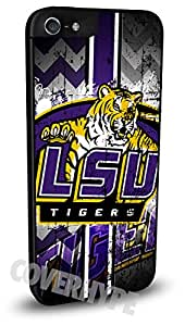 LSU Tigers Cell Phone Hard Plastic Case for iPhone 5c