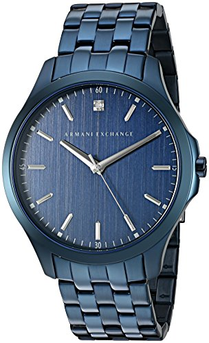 Armani Exchange Men s AX2184 Blue IP Quartz Watch