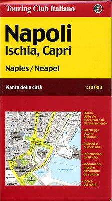 Naples tci r Ischia Capri Touring Club Italiano Amazoncouk