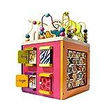 B. Zany Zoo (Wooden Activity Cube) (Renewed)