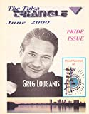 img - for Greg Louganis, Gay Pride Issue - June, 2000 The Triangle (Tulsa, Oklahoma Gay & Lesbian Bar Guide) book / textbook / text book