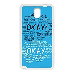 okay? okay. Phone Case for Samsung Galaxy Note3