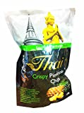 3 Packs of Crispy Pineapple Chips, delicious Fruit Snack From My Choice Thai Brand, 4 or 5 Strar Otop Rating Approved. (100 G/ Pack)